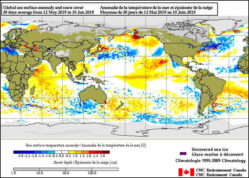 Surface analysis - 30-Day Average - Environment Canada