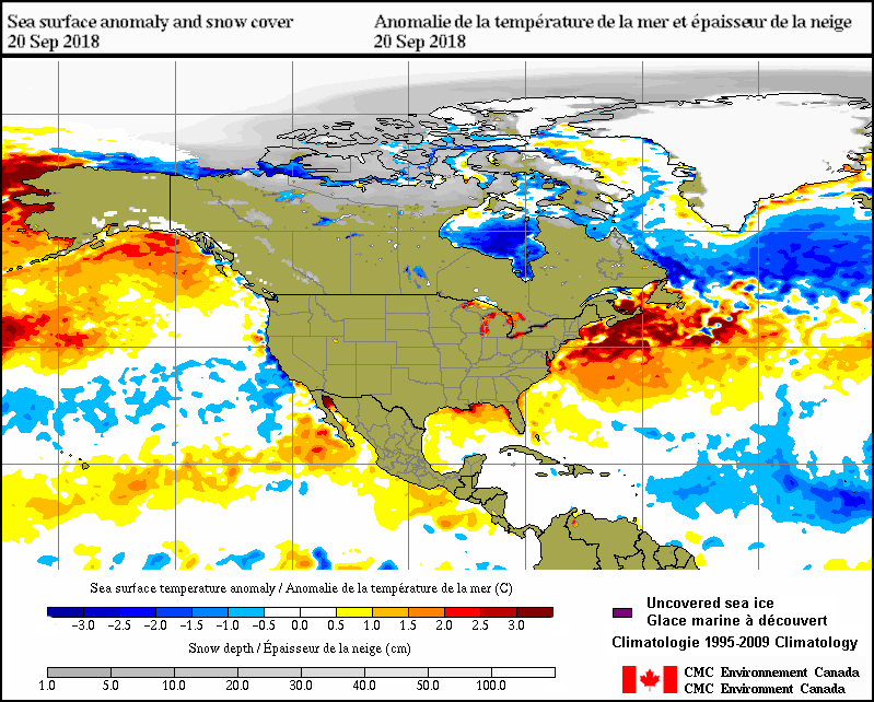 Surface analysis - 30-Day animation - Environment Canada