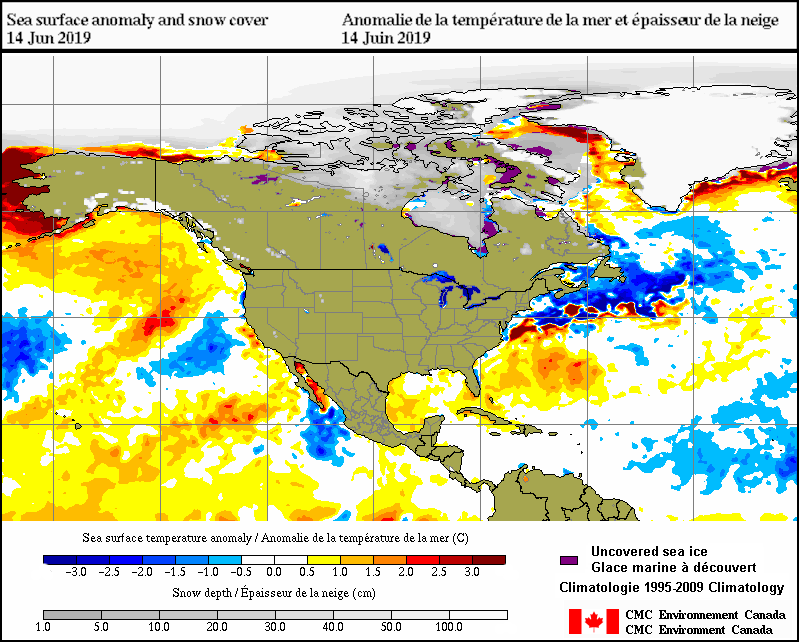 Surface ysis - 30-Day animation - Environment Canada on