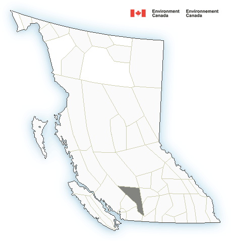 Map of British Columbia