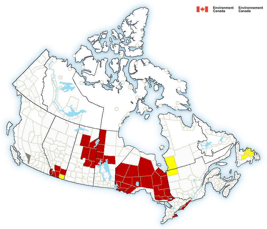 Canadian Weather Alerts