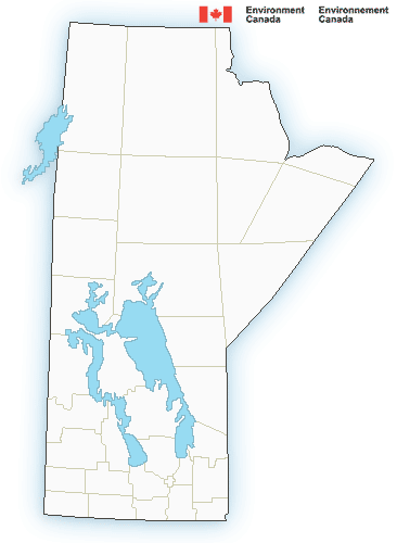 Map of Manitoba