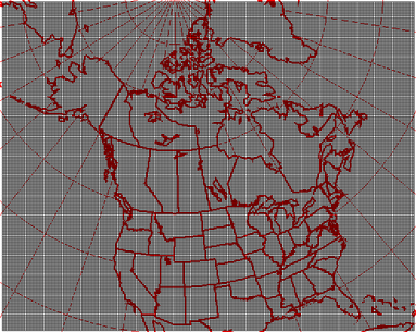 35km resolution geographical grid coverage